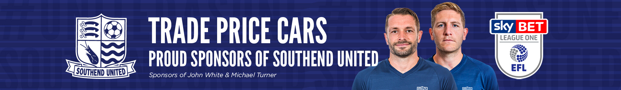 Proud Supporter of Southend United FC